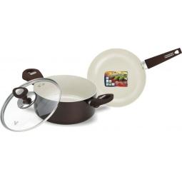 фото Набор кухонной посуды c внутренним керамическим покрытием Vitesse VS-2219