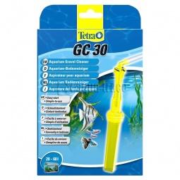 фото Сифон для чистки грунта в аквариуме Tetra с защитной сеткой. Объем: 20-60 л