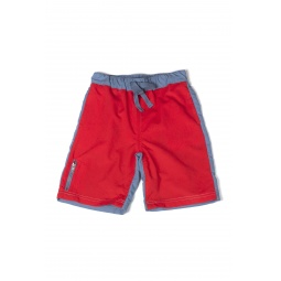 Купить Шорты детские для мальчика Appaman Colorblock Swim Trunks. Цвет: красный