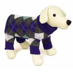 Купить Свитер для собак DEZZIE «Ромб»