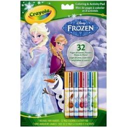 Купить Раскраска Crayola «Холодное сердце» с головоломками
