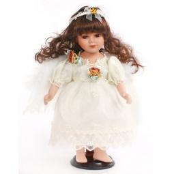 фото Кукла декоративная Shantou Gepai «Ангел с темными волосами»