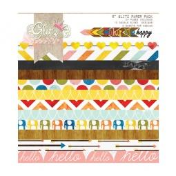 фото Набор бумаги Glitz Design Color me happy