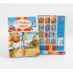фото Комплект из 3-х кухонных полотенец новогодний ТексДизайн «Рождество, Обезьянки, Письмо Деду Морозу»