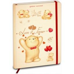фото Дневник школьный Проф-Пресс «Медвежата с сердечками»