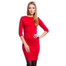 фото Платье Mondigo 5059. Цвет: бордовый. Размер одежды: 46