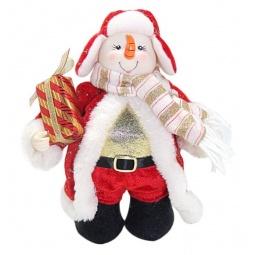 фото Игрушка новогодняя Новогодняя сказка «Снеговик» 949192
