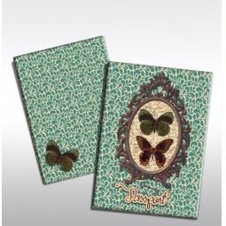 фото Обложка для паспорта Феникс-Презент «Бабочки» 37726