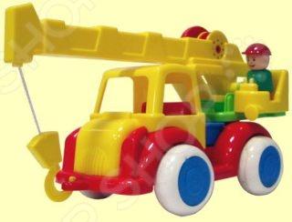 Машинка игрушечная Форма «Автокран ДС»