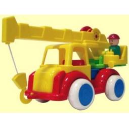 фото Машинка игрушечная Форма «Автокран ДС»