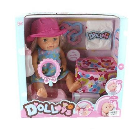 Купить Кукла интерактивная Shantou Gepai LD9810B