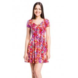 фото Платье Mondigo 7055-2. Цвет: бледно-розовый