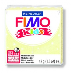 фото Глина полимерная для детей Fimo kids 8030. Цвет: светло-желтый