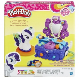 фото Набор пластилина игровой Hasbro «Туалетный столик Рарити»