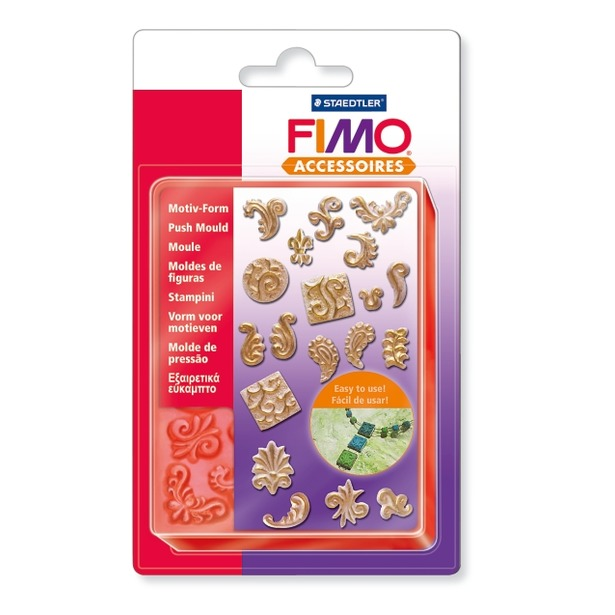 фото Набор формочек для лепки Fimo «Орнамент»