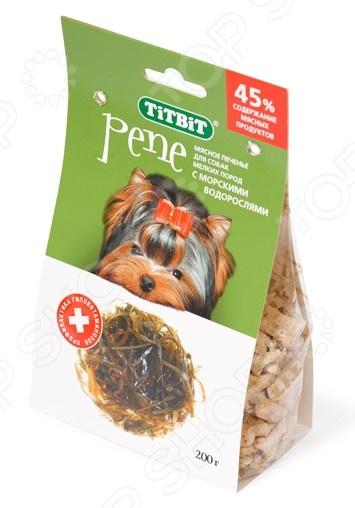 Лакомство для собак мелких пород TiTBiT 7102 «Печенье с морскими водорослями»