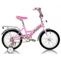 фото Велосипед Larsen Kids 16. Цвет: розовый
