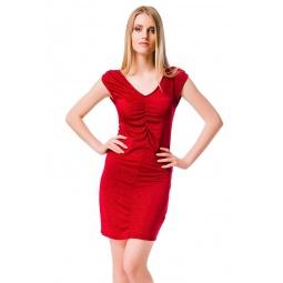 фото Платье Mondigo 8705. Цвет: бордовый. Размер одежды: 44