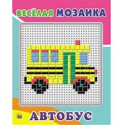фото Мозаика Рыжий кот «Автобус»