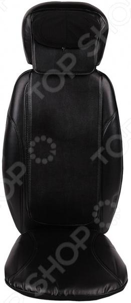 Накидка массажная Gess Body CareМассажные накидки на сидения<br>Профессиональный массаж у вас дома Накидка массажная Gess Body Care это прекрасное приспособление для отдыха и поддержания организма в тонусе. Она идеально подойдет для воздействия на области шеи, плеч, спины, поясницы, ягодиц и бедер. Представленная модель разительно отличается от аналогов наличием массажных роликов-кулачков. Данная технология максимально схожа с работой профессионального массажиста в салоне красоты. У вас есть возможность выбрать тот участок тела, который хочется проработать, подобрать необходимую интенсивность и даже включить функцию подогрева.  Оцените преимущества:  9 режимов массажа позволят выбрать необходимую интенсивность воздействия.  Профессиональный массаж шеи и плеч позволяет максимально проработать плечевой пояс.  Высота и угол наклона массажера для шеи регулируются.  Массаж с прогревом способствует улучшению кровообращения и глубокой проработке мышц.  3D массаж сравним по эффекту с профессиональным массажным креслом.  Вибромассаж бедер и ягодиц служит для профилактики целлюлита, снимает напряжение с копчика после долго дня в сидячем положении.  Многофункциональный пульт ДУ.  Уникальная система крепления позволяет зафиксировать Gess Body Care практически на любом стуле и даже автомобильном сидении. Достаточно поместить накидку на сидение и пристегнуть лямки к спинке. В таком положении она не соскользнет и не сместится. Питание модели осуществляется от сети переменного тока 220 В, а в автомобиле от прикуривателя.  Какие проблемы решит массажная накидка  Облегчит дискомфорт, вызываемый мышечными спазмами.  Поможет избавиться от мышечной усталости.  Увеличит подвижность суставов.  Улучшит общее самочувствие, обмен веществ в организме и нормализует кровообращение.  Массажная накидка это отличный подарок для самого широкого круга людей, в том числе и для пожилых, ведущих малоподвижный образ жизни. С массажером Gess Body Care, вы забудете о болях и отеках спины, дискомфорте во в