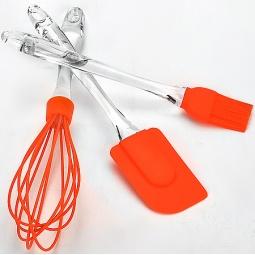 фото Набор кухонных принадлежностей Mayer&Boch MB-20063. Цвет: оранжевый