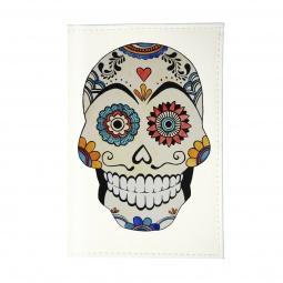 фото Обложка для паспорта Mitya Veselkov «Мексиканский череп»