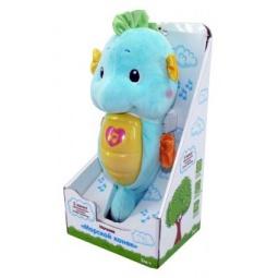 фото Ночник детский музыкальный Жирафики «Морской конек». Цвет: голубой