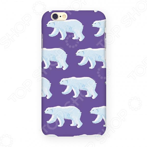 Чехол для iPhone 6 Mitya Veselkov «Ночные мишки» стоимость