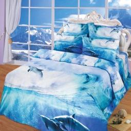 фото Комплект постельного белья АртПостель «На гребне волны». Евро
