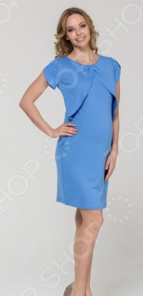 Платье для беременных Nuova Vita 2128.1. Цвет: голубой