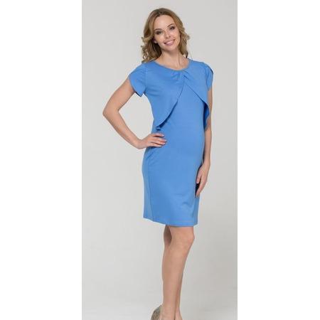Купить Платье для беременных Nuova Vita 2128.1. Цвет: голубой