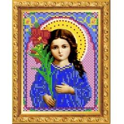 Купить Набор для вышивания бисером Светлица «Святая Богородица Трилетствующая»