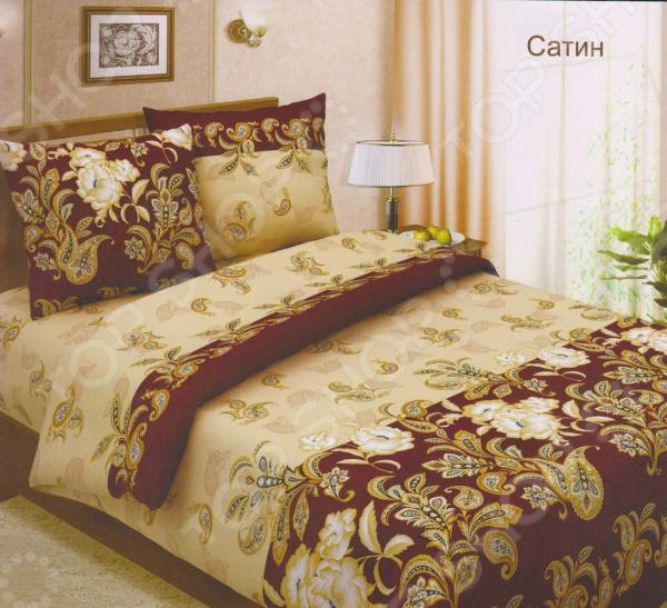 Комплект постельного белья BegAl БК002-504-4. 2-спальный2-спальные<br>Комплект постельного белья BegAl БК002-504-4 это сочетание стильного элегантного дизайна и прекрасного качества исполнения. Он не только внесет яркий акцент в интерьер вашей спальни, но и добавит ей утонченности, изысканности и роскоши. В набор входит пододеяльник, простыня и две наволочки. Постельное белье выполнено из высококачественной бязи и украшено оригинальным набивным рисунком. Бязь представляет собой хлопчатобумажную ткань полотняного переплетения. Она отлично зарекомендовала себя в пошиве постельного белья, благодаря своей воздухопроницаемости, легкости и устойчивости к истиранию. Ткани и готовые изделия производятся на современном импортном оборудовании и отвечают европейским стандартам качества. Рекомендуется стирать белье в деликатном режиме без использования агрессивных моющих средств.<br>
