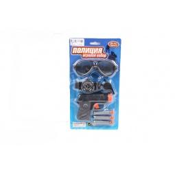 фото Набор игровой с пистолетом PlaySmart «Полиция» Р41215
