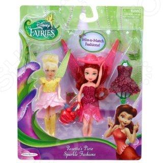 Кукла Jakks Pacific «Фея. С волосами и дополнительным платьем»Куклы<br>Кукла JAKKS Фея. С волосами и дополнительным платьем станет отличным подарком для вашей любимой доченьки. Очаровательная кукла обязательно понравятся малышке. Она подойдет для моделирования различных сюжетно-ролевых игр. В наборе есть дополнительная одежда и аксессуары, с помощью которых можно менять образ и стиль. Такие игры, в свою очередь, способствуют развитию у детей воображения, пространственного мышления и фантазии. Высота куклы - 11 см.<br>