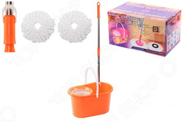 Набор для уборки: швабра, ведро и насадки Violet 09000