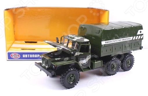 Машинка инерционная PlaySmart «Автопарк. Министерство обороны»
