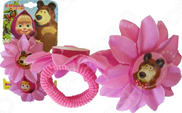 Резинка для волос Маша и Медведь «Цветок»