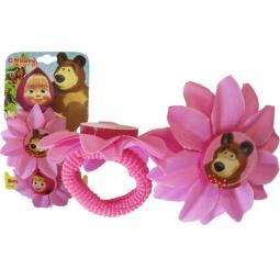 Купить Резинка для волос Маша и Медведь «Цветок»