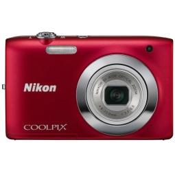 фото Фотокамера цифровая Nikon CoolPix S2600. Цвет: красный. Рисунок: нет