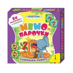 Купить Игра Союзмультфильм «Мемо-парочки «38 попугаев»