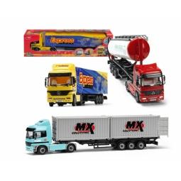 Купить Машина грузовик-трейлер игрушечная dickie. В ассортименте