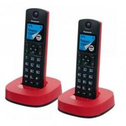 фото Радиотелефон Panasonic KX TGC 312. Цвет: красный, черный