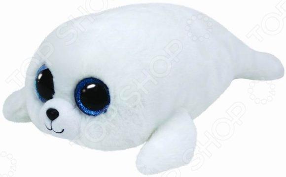 Мягкая игрушка TY «Белый тюлень Icing»Мягкие игрушки<br>Игрушка мягкая TY Белый тюлень Icing подарит своему обладателю незабываемые мгновения уюта и нежности. Изделие сделано из качественного приятного на ощупь искусственного меха с набивкой из специальных мягких гранул. Благодаря своему очаровательному дизайну, эта мягкая игрушка никого не оставит равнодушным. К каждой зверюшке прилагается ярлычок в виде сердечка, выполняющий роль своеобразного паспорта, в котором указано имя игрушки и прочая информация.<br>