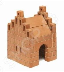 Конструктор из глины Brick Master «Кирпичики. Домик»Другие виды конструкторов<br>Конструктор из глины Brick Master Кирпичики. Домик позволит вашему ребенку почувствовать себя настоящим строителем. Возводить постройку придется из настоящих кирпичей из обожженной глины и скреплять их цементом . В комплект входят кирпичи 99 штук , цемент из крахмала с речным песком, мастерок, подставка для постройки, специальная емкость для разведения смеси и инструкция.<br>