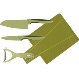 Набор ножей с разделочной доской Calve CL-3119