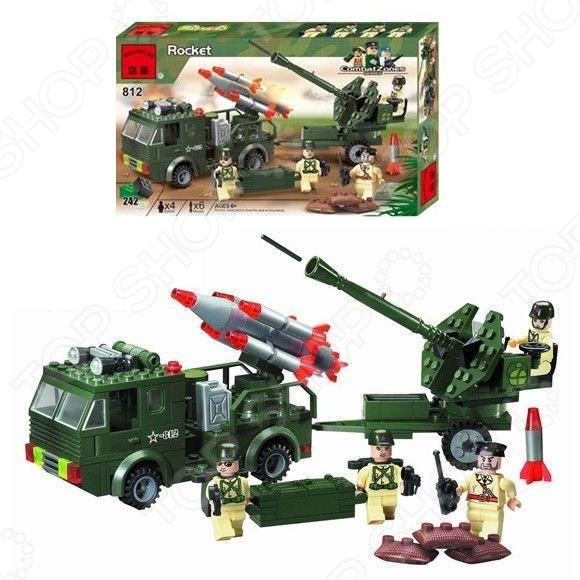 Конструктор игровой Brick «Ракетница» 1717093 оружие воздушная ракетница long flight