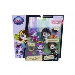 фото Набор игровой с куклой Hasbro «2 модницы зверюшки с аксессуарами». В ассортименте