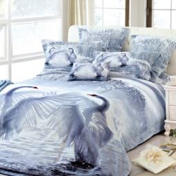 фото Комплект постельного белья с эффектом 3D Buenas Noches Tango. Евро