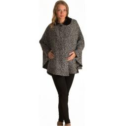 Купить Пончо для беременных Nuova Vita 2203. Цвет: серый, черный